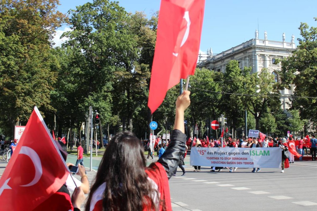 Turecki protest