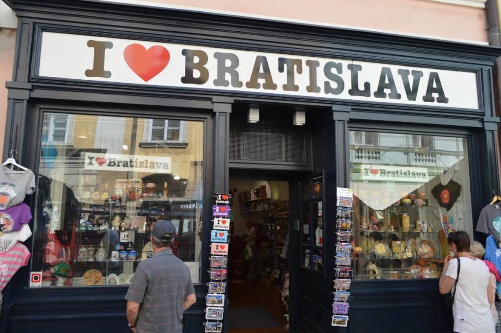 I love Bratislava